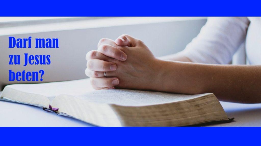 Zu Jesus Beten