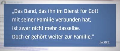 Zitat jw org Familie